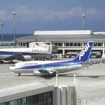 Аэропорт/городские виды города Наха