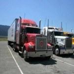 Камера на грузовике дальнобойщика