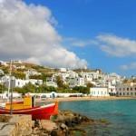 Пляж Mykonos, Греция